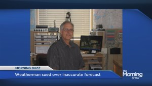 Montreal weatherman sued over inaccurate weather