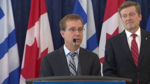Tory introduces Peter Wallace as Toronto's new city manager