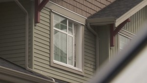 Responders on scene at Langley complex where child fell from window