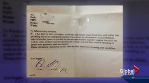 Lethbridge doctor's critical sick note goes viral