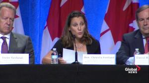 Canada is a 'trading nation' focused on upcoming NAFTA talks: Freeland