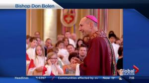 Bishop Don Bolen heading to Regina