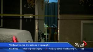 Calgary police investigate home invasions