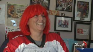 Meet Connie 'Red Head' Fekete, Stampeders super fan