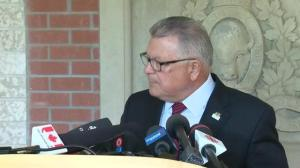Ralph Goodale offers blunt advice for BC residents in or near a wildfire zone