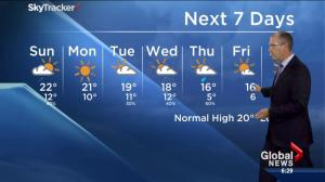 Edmonton Weather Forecast: August 29