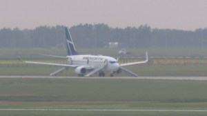 Passengers on diverted WestJet plane told to 'get out right now'