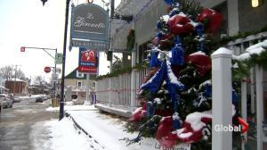 Dorval Christmas tree contest