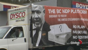 "Liberals ""truth truck"" gets mixed reviews"