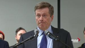Mayor Tory thanks taxi drivers for cancelling proposed weekend strike