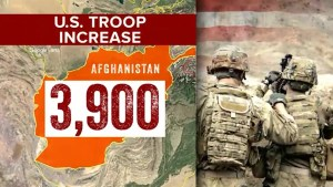 Trump expected to announce more troops being sent to Afghanistan during primetime address