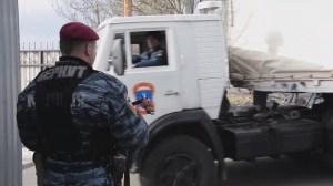 Another Russian convoy arrives in Ukraine
