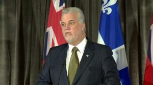 Philippe Couillard praises Kathleen Wynne for introducing cap and trade system