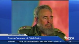 Touchdowns and Fumbles: Did Trudeau fumble his eulogy to Fidel Castro?