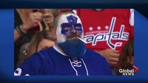 Dart Guy steals Leafs fans hearts