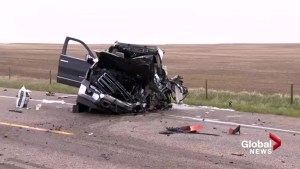 Serious collision closes Highway 5 near Lethbridge airport