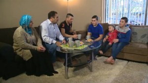 Syrian refugee family adjusting to new life in Canada