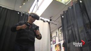 Halifax VR Room working on Nova Scotia content