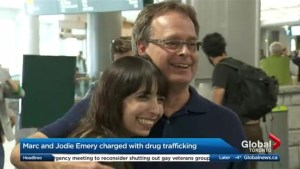 Why were Marc and Jodie Emery arrested?