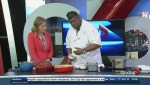 Chef Eraj Jayawickreme prepares Easter ham and scalloped potatoes