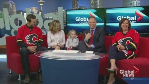 Global Calgary welcomes their biggest fan