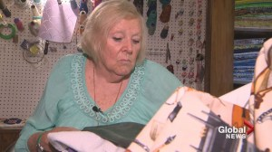 Meet the 84-year-old who is Canada's quilter to the stars