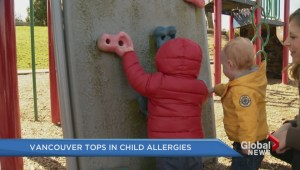 Vancouver tops in child allergies