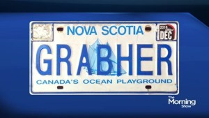 "Is this license plate ""socially inappropriate""?"