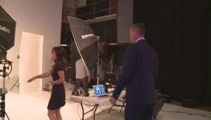 Behind the scenes of Global BC's fall photo shoot
