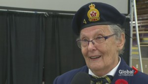 Lethbridge family takes part in Remembrance Day to honour loved one