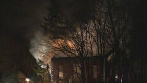 Arson suspected after two abandoned homes destroyed by fire in Pickering