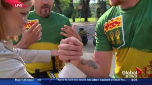 Best in Canadian arm wrestling come to Saskatoon