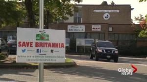 Vote to remove Britannia Secondary from VSB closure list