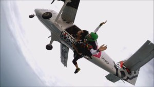 Winnipeg man who died in crash, skydives in Dubai in Facebook video