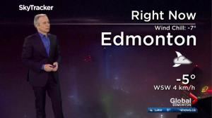 Edmonton early morning weather forecast: Friday, March 17, 2017
