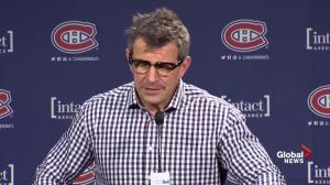 Canadiens GM Marc Bergevin comments on the process of the PK Subban deal