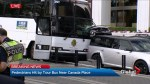 Tour bus hits pedestrians near Canada Place
