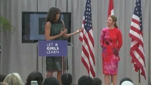 Michelle Obama calls Sophie Grégoire Trudeau her 'soul mate'