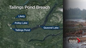 Toxic water spills from BC tailings pond after breach