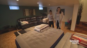 Quebec floods: Families seeking refuge