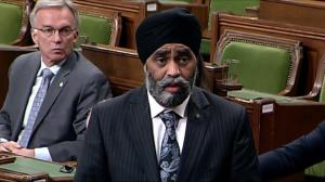 Sajjan on US airstrikes: 'Civilized people must speak with one voice'