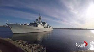 Behind the scenes of a Canadian Warship