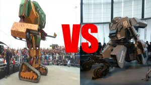 It's on: Japanese, American giant robots to battle for robo-supremacy