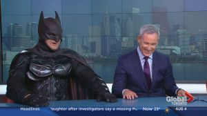 "Toronto Batman retires as the film ""Suicide Squad"" debuts"