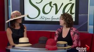 Hats of all kinds from Sova Hat Shoppe