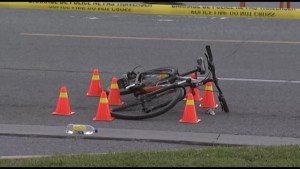 Cyclist in hospital with serious injuries following collision on Division Street
