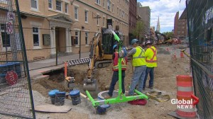 'Mythical' underground tunnels in Halifax create construction site buzz