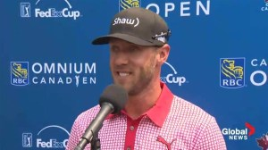 RBC Canadian Open: DeLaet thrilled with record day