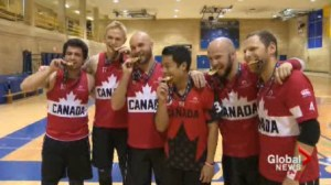 Canadian Dodgeball team wins gold at the World Championships in Hong Kong.