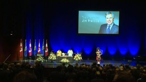 Family, friends of Jim Prentice pay final respects to former Alberta premier